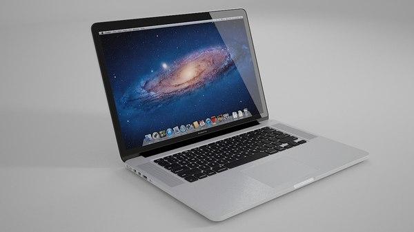 3d model apple pro