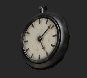 clock games bonus 3d model