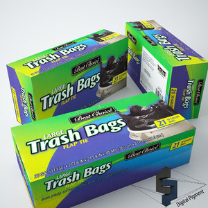 best trash bags 3d model