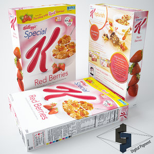 kelloggs special k red 3d 3ds