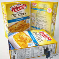 max velveeta cheesy potatoes au