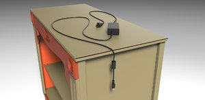 3ds max power supply components