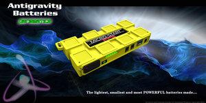 3d model batteries parismatics case