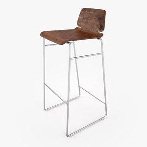 zeitraum form bar stool max