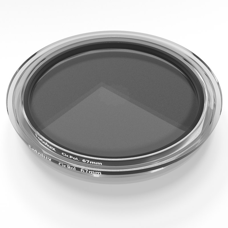 3d circular polarizer filter