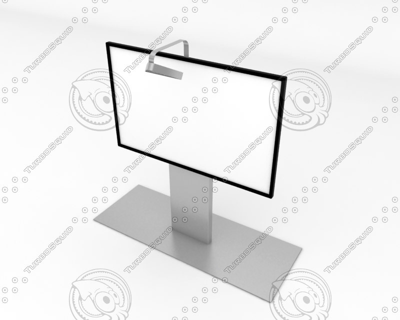 white screen 3d max