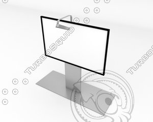 white screen 3d max