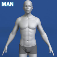 Man 3d Model