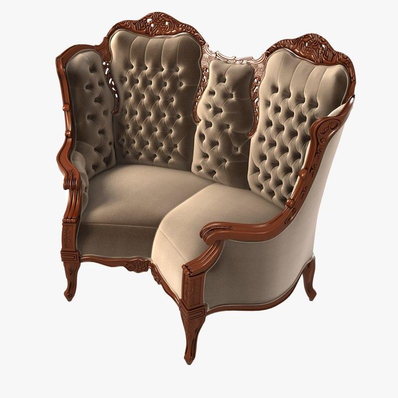 michelle marti curious sofa 3d 3ds