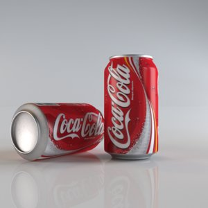 coca cola 3d x