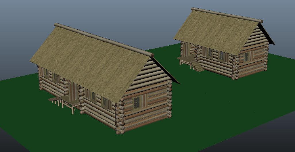 3d woodwall house