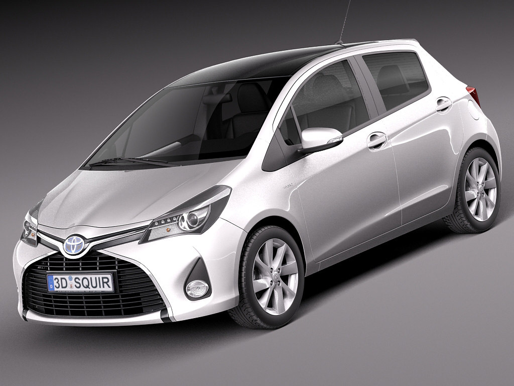2015 toyota yaris 3ds