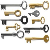 3d model keys 10
