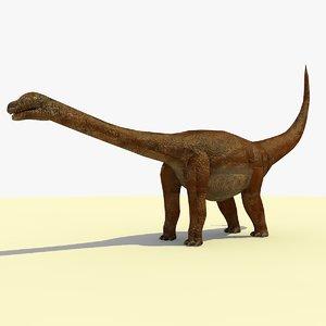 opisthocoelicaudia dinosaur 3d 3ds