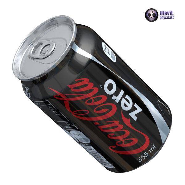 3ds max coca cola zero