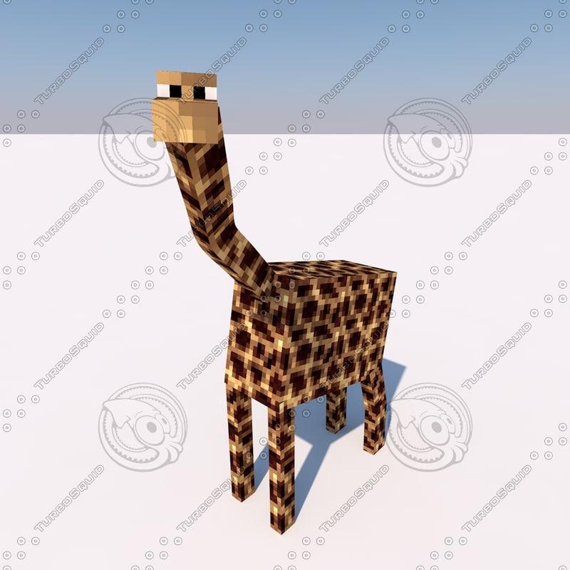 giraffe rig 3d c4d