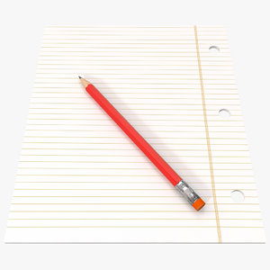 pencil note paper 3ds
