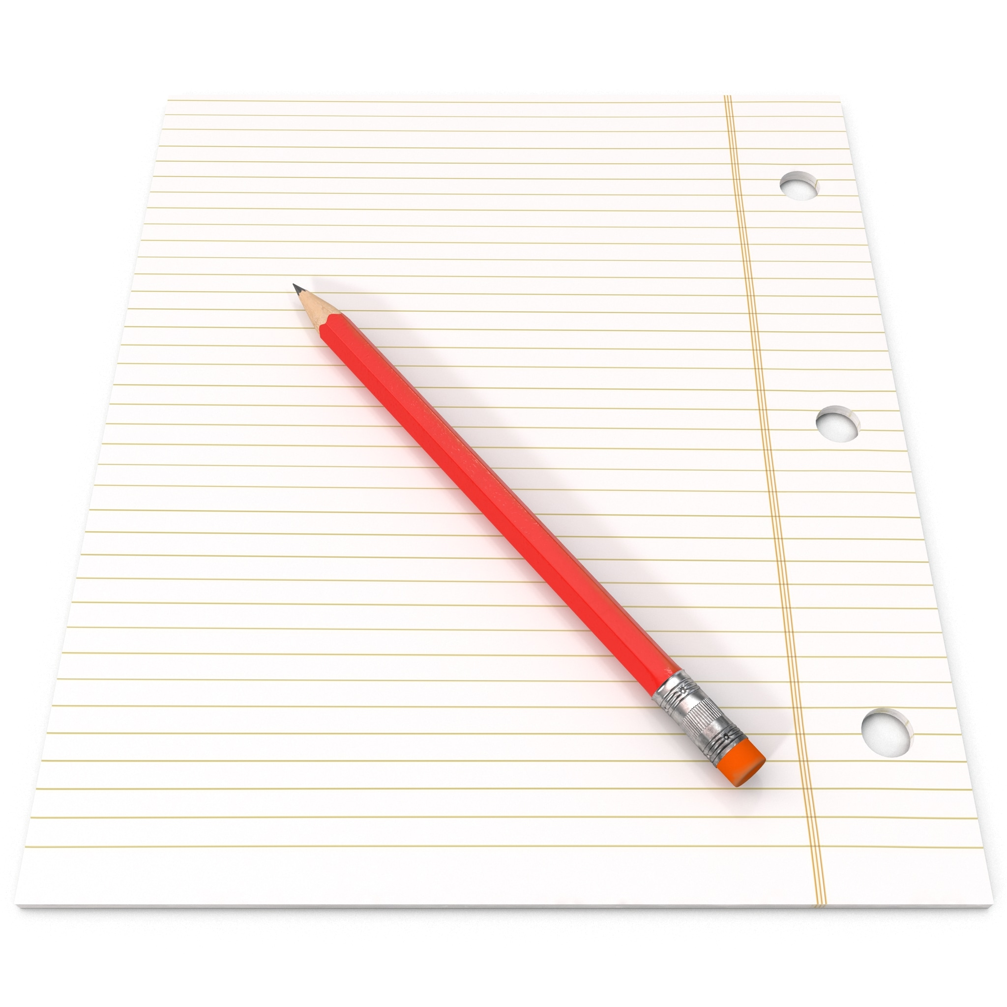 pencil note paper 3ds
