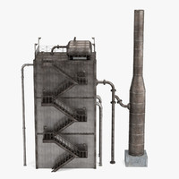 3d model reformer refinery