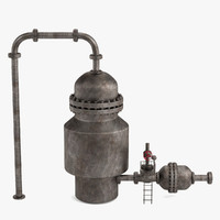 vacuum distillation unit 3d 3ds