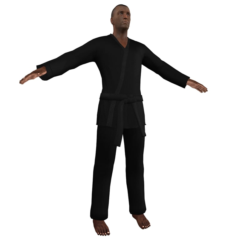 obj karate martial artist 1