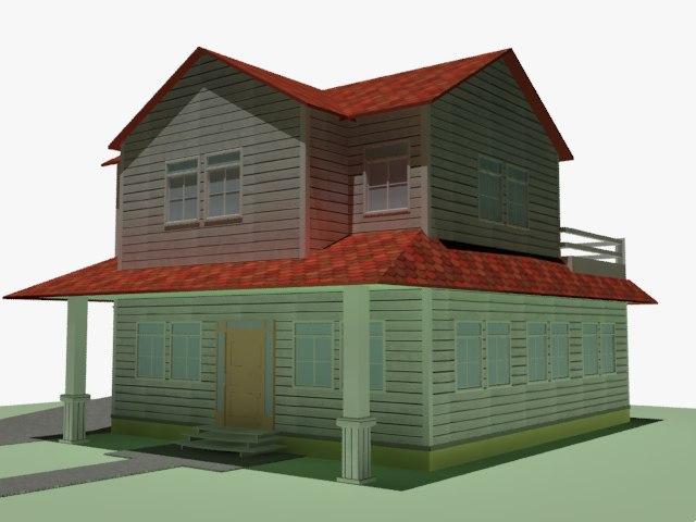 3dsmax house home