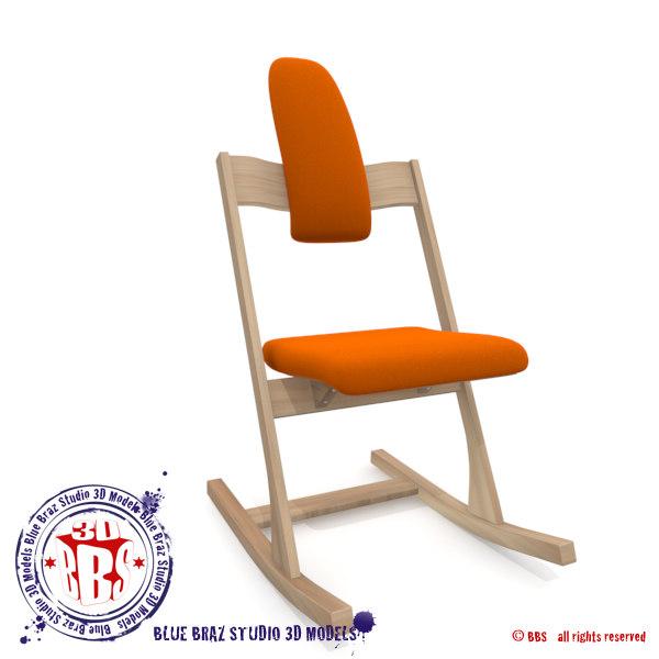 dxf ergonomic tilting chair