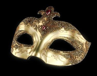 opera mask 3d model