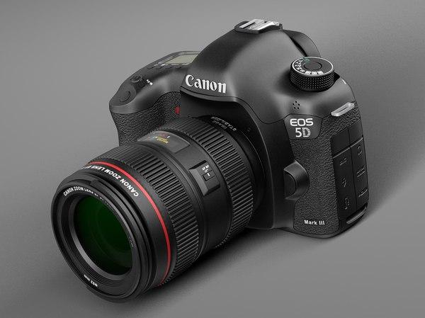 iii 5d canon 3d model