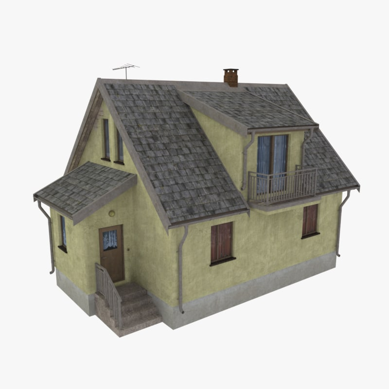 storey home scale 3d model
