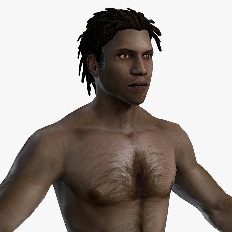 character mmorpg body 3d model