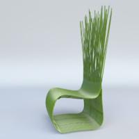 3d yoda chair