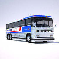 MCI-9 Greyhound Bus