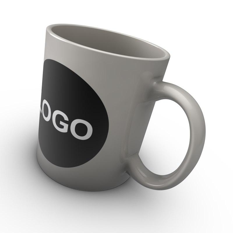 coffee mug c4d