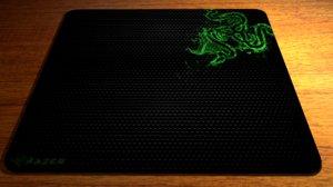 3dsmax razer mouse pad