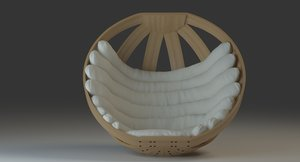 cradle chair design 3d x
