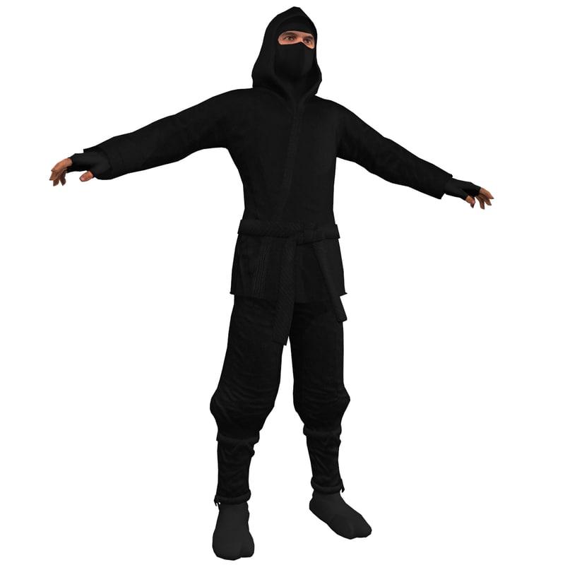 ninja 1 3d model