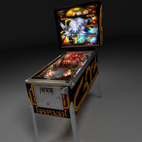 Real3D Pinball machine