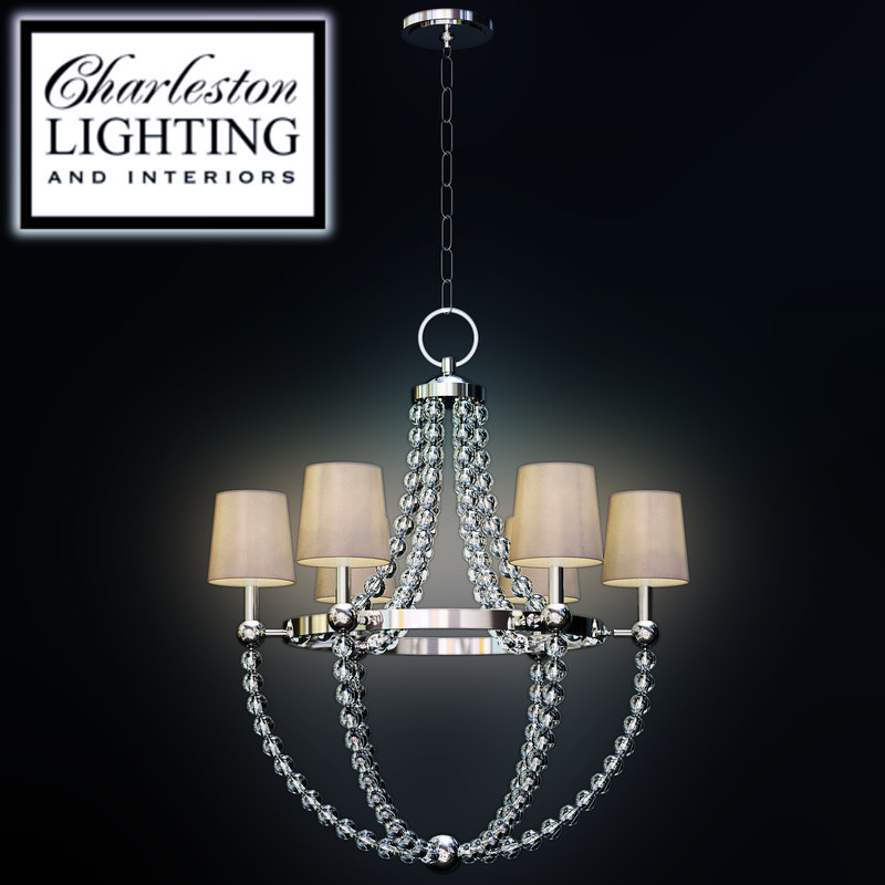 charleston lighting interiors chandelier 3d max