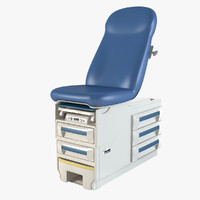Doctor's Office Exam Table