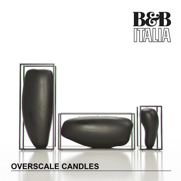 b italia overscale candles max