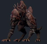 3ds max creature mount