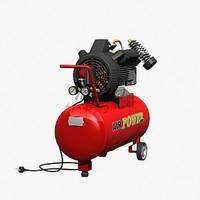 air compressor 3d ma