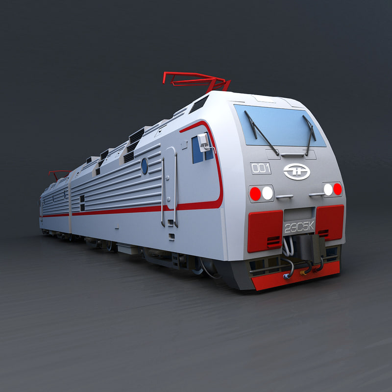 russian train locomotive ermak max