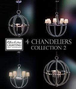 charleston lighting interiors 3d model