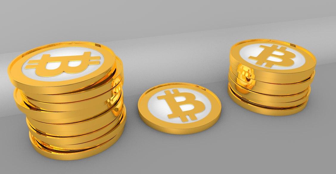 3d c4d bitcoin coin
