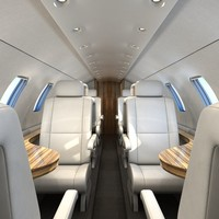 ma airplane interior
