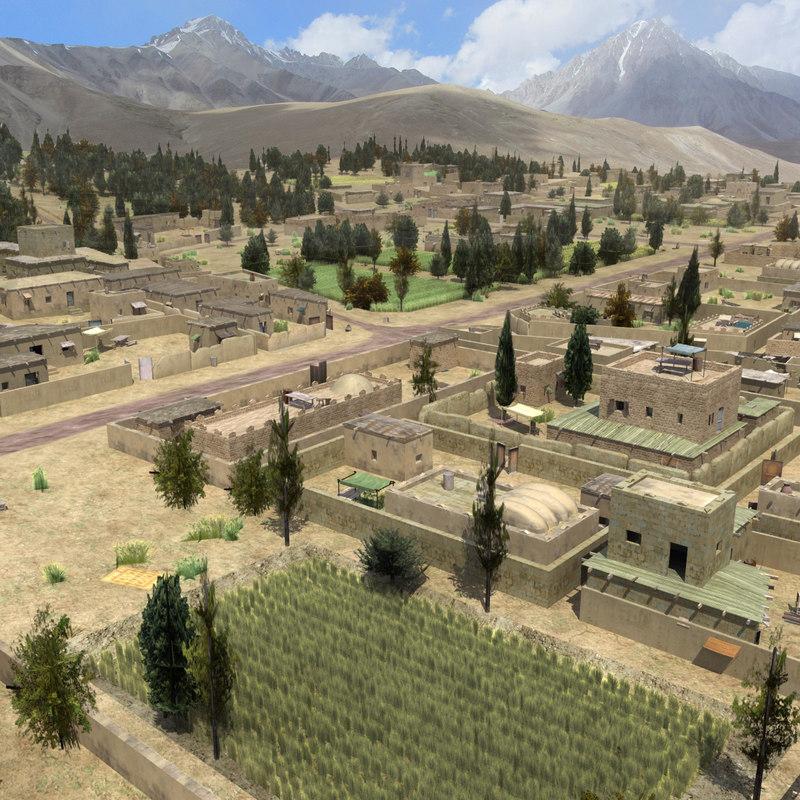 afghan farmland farms 3d 3ds
