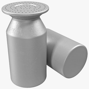big salt shaker french fries 3d max