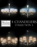 Charleston lighting and interiors 4 chandeliers/Col.3